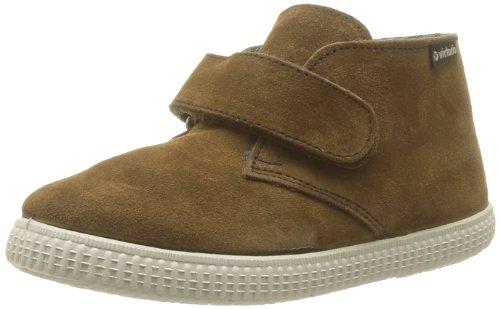 Victoria - Safari Serraje Velcro - Desert Boots fourrées - Mixte Enfant - Marron (Whisky) - 32 EU