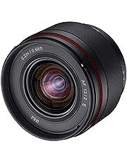 Samyang AF 12 mm F2.0 E obiettivo per Sony E – Auto Focus APS-C grandangolare obiettivo obiettivo per Sony E Mount APSC, per fotocamere Sony Alpha 6600 6500 6400 6300 6100 6000 5100 5000 NEX nero
