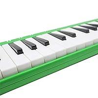 37ピアノ学生初心者の子供のためのキャリングバッグとキーメロディカ楽器 練習する初心者に最適 (Color : Green)