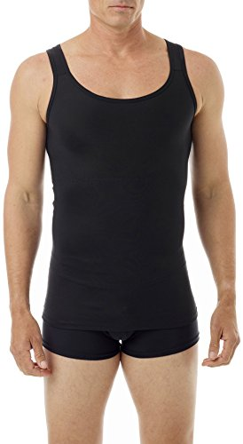 Underworks Mens Firm Classic Compression Body Shirt X-Small Black