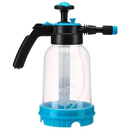 WBFN 1 stuks 2L Pomp Sprayer Portable Pressure Garden Spray Bottle Kettle Bloemen Gieter Handheld Pressurized Spuitbus Translucent (Color : Clear)