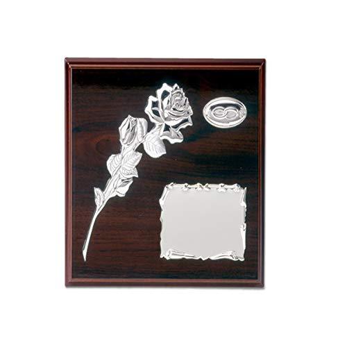Targa commemorativa per regalo di matrimonio (ideale anche anniversario dei 25o 50anni di matrimonio), personalizzabile
