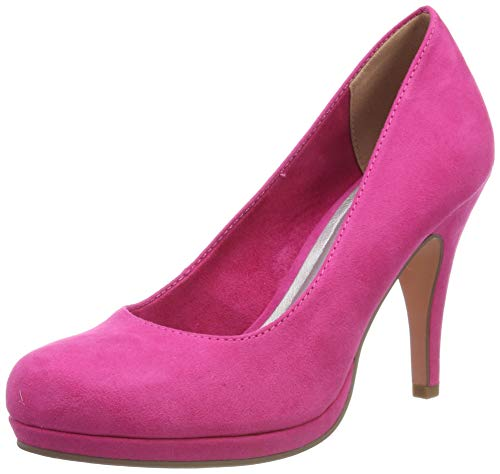 Tamaris Damen 1-1-22407-22 Pumps, Pink (Fuxia 513), 36 EU
