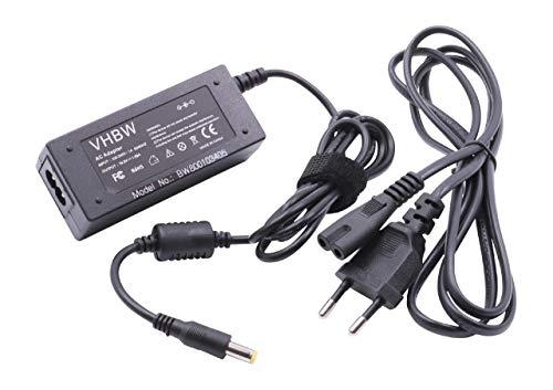 vhbw Cargador portatil 19V, 1.58A, 30W Compatible Acer Aspire One D150, D250, D255E etc sustituye PA-1300-04, HP-A0301R3 B1LF Rev:01, HP-A0301R3