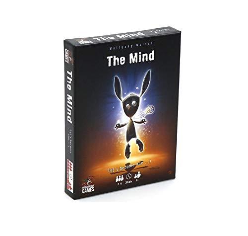 DDD1234 The Mind Card Game, Juego de Mesa de Rompecabezas Interactivo de Experiencia en Equipo multijugador, Adecuado para divertirse en Fiestas
