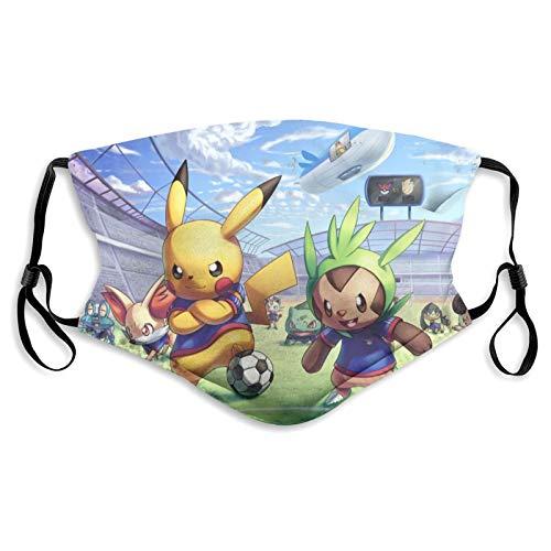 MayBlosom Masque Couvre-Visage Anime Pokémon Pikachu Masque...
