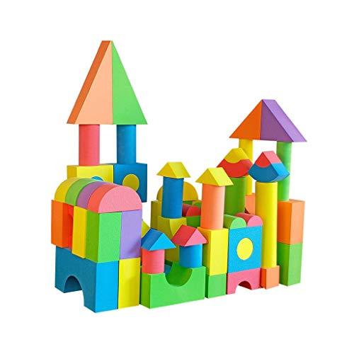 LIUFS-JOUET Blocs De Construction en Mousse Assembling Logiciel De Sécurité for Enfants Jardin d'enfants Puzzle Jouets 6cm Protection Jouets Éducatifs 2-3 Ans Cadeau (Size : 6 cm)