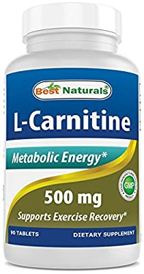 Best Naturals L-Carnitine Tartrate 500 mg 90 Tablets
