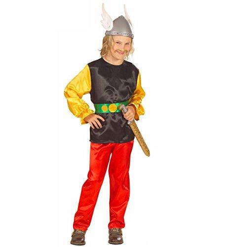 Widmann Gaulois Kinder-Kostüm mit Gürtel, für Party 217