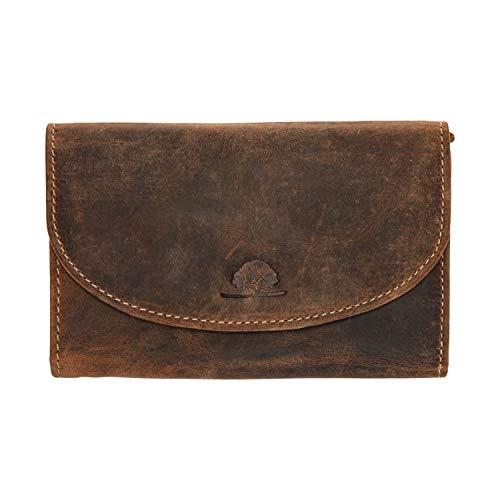 Greenburry Vintage portemonnee leder 15 cm