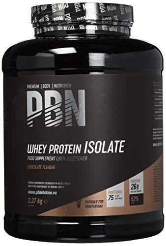 Premium Body Nutrition - Whey-ISOLAT-Pulver, 2,27kg, Schokolade - 75 Portionen