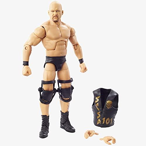 WWE Mattel – GYC27 Royal Rumble Elite Collection – Steve Austin – Wrestling Actionfigur ca. 15 cm
