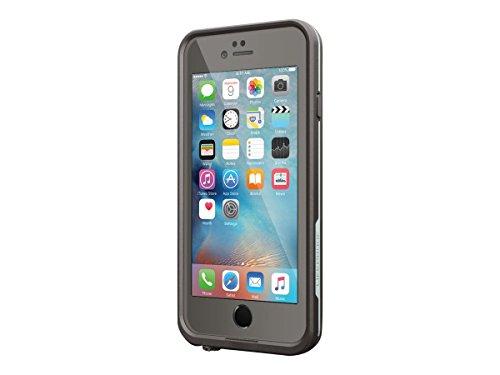 Lifeproof FRĒ SERIES iPhone 6/6s Waterproof Case - Retail Packaging - GRIND (DARK GREY/SLATE GREY/SKYFLY BLUE)