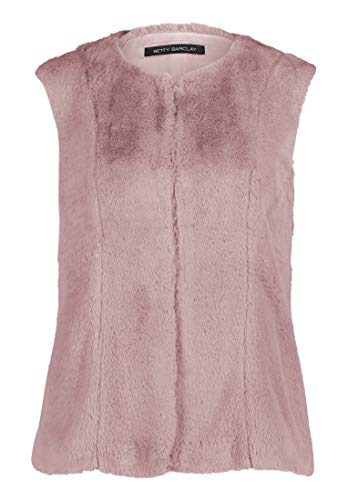 Betty Barclay Kunstfell-Weste Pale Mauve, 46 Damen
