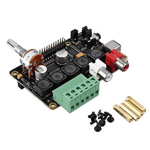 Camisin PCM5122 Verst?Rker X400 V3.0 Audio Erweiterungs Karte für Raspberry Pi 4 Modell B/Raspberry Pi 3 Modell B + / 3 Modell EIN +