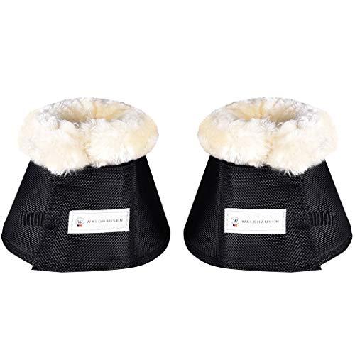 Hufglocken Premium, Paar, schwarz, XL