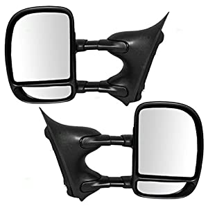 Pair Side Rearview Mirror Cover Housing For Mazda 3 2008-2011