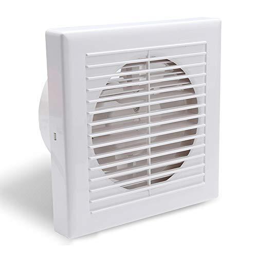 HG Ventilatore Ø100 mm Ventilatore a parete Ventilazione Ventilazione del tubo Ventilatore del condotto dell'aria di scarico 130 m³ /