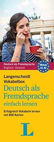 Langenscheidt Vokabelbox Deutsch als Fremdsprache einfach lernen - Box mit Karteikarten: Erfolgreich Vokabeln lernen mit 800 Karten (Langenscheidt Vokabelbox einfach lernen)