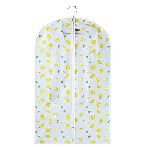 QFFL Sac de compression sous vide Housse de protection anti-poussière, sac de rangement transparent épais et d'impression lavable pour vêtements Sac de protection (Couleur : B, taille : 110 * 60CM)
