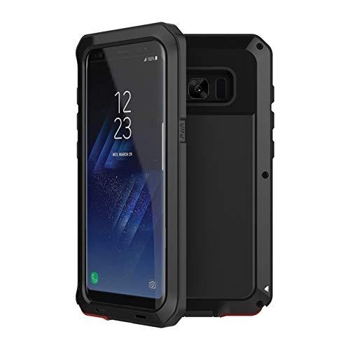 LMDC Estuche A Prueba De Golpes A Prueba De Golpes Anti-Golpe De Metal Ajuste A Prueba De Golpes Ajuste para Fit For Samsung Galaxy S8 S9 Plus S7 S6 Edge Note 8 9 10 Funda