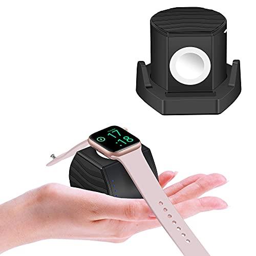 PL ZMPWLQ Ladegerät für iWatch 3000mAh Power Bank iWatch ladestation [MFI Zertifiziert] 5W Schnellladegerät Ladegerät kabellos Energiebank für iOS Watch Series 6 5 4 3 2 1