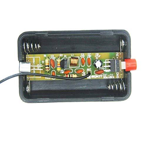 Yongse draadloze microfoon RF-01 DIY Kit productie FM-zender 5 mA 70 MHz met antenne