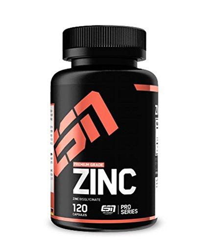 ESN Zinc, hochdosiert, 120 Kaps