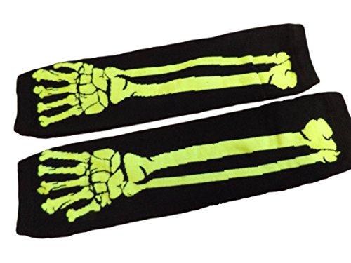 guanti emo Poizen Industries scheletro