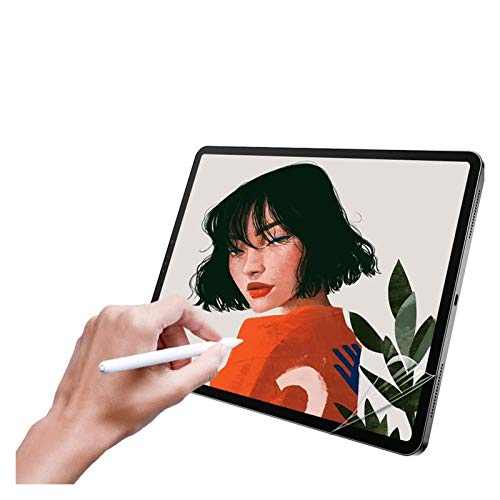 WENAN Screen protector Paper Like Screen Protector For IPad Pro 12.9 11 10.5 9.7 Air 1 2 3 Mini 4 5 Matte PET Anti-Glare Painting Film For Apple Pencil Microsoft Surface (Color : Pro 12.9 Touch ID)