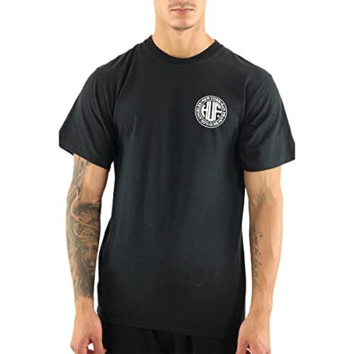 HUF - Camiseta de manga corta con impresión en relieve - Regional...