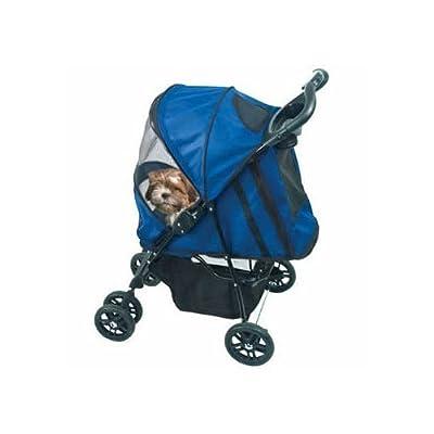 Happy Trails Pet Stroller Cobalt Blue