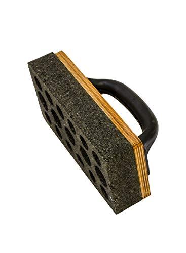 Schleifstein Siliciumcarbid mit Griff für Beton und Estrich 200 x 100 x 35 mm Schleifblock Schleifen Betonschleifer Schleifbrett