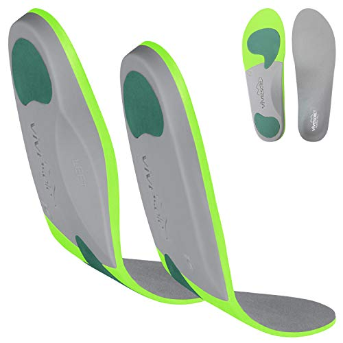 ViveSole Orthotic Inserts for Plantar Fasciitis - Arch Support Insoles Shoe Inserts for Comfort and Relief from Flat Feet, High Arches, Back, Fascia, Foot and Heel Pain - Full Length