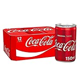 12 mini latas de Coca-Cola (12 x 150 ml)