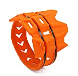 Silenciador de tubo de escape universal MX Dirt Pit Bike – Protección para moto CRF Motocross – Naranja