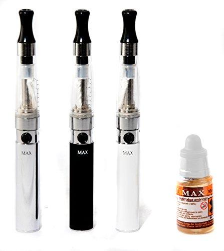 E Zigarette eShisha Starterset - eGo-t mit Evod und CE4 inkl. USB Ladekabel und 1 Liquid ohne Nikotin Farbe Silber