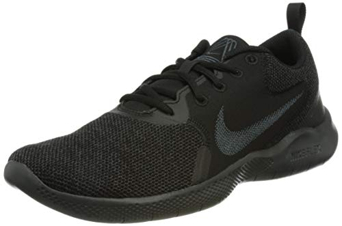 Nike Flex Experience RN 10, Running Shoe Hombre, Black/Dark Smoke Grey, 42 EU