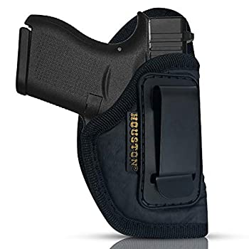 ECO Leather Concealment Holster Inside The Waist with Metal Clip FIT Glock 43 & 42 SIG P365 KAHR PM 45 MAKAROV KELTEC PF9 / P11  Right   CHP-58A-RH