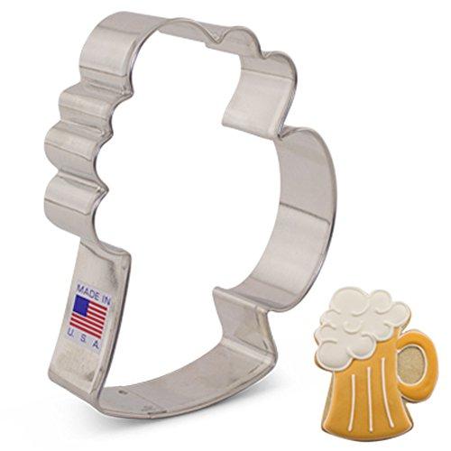 Ann Clark Cookie Cutters Cortador de galletas jarra de cerveza - 10,8 cm