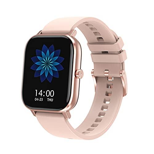 ECG PPG Smart Watch Bluetooth Call Fitness IP67 Tasa del Corazón A Prueba De Agua Y Presión Sanguínea Smart Watch para Android iOS,D