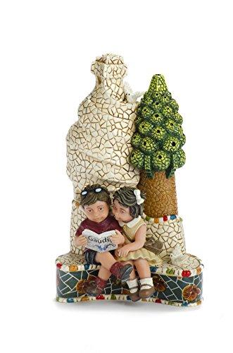 Nadal Figura Decorativa un Libro es un Amigo, Resina, Multicolor, 7.00x10.00x16.00 cm