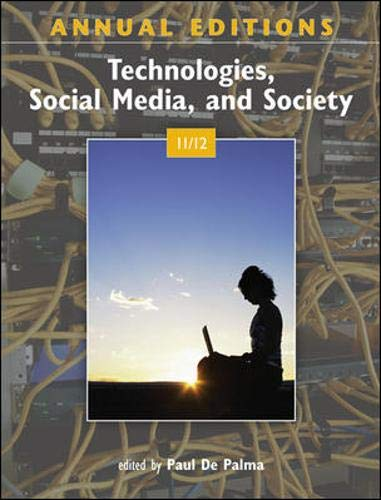 Annual Editions: Technologies, Social Media, and Society...