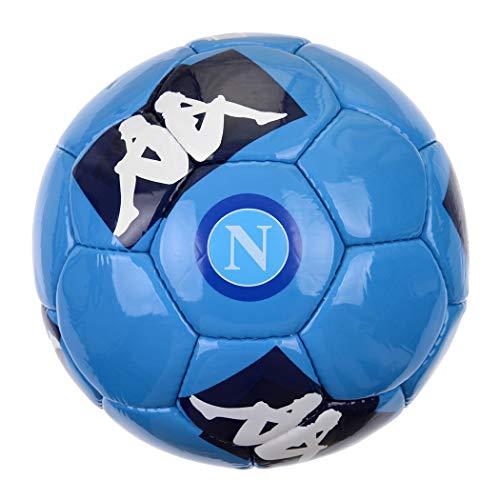 ssc napoli, Pallone Ufficale 20/21 Unisex – Adulto, Azzurro-Blu-Bianco, 05