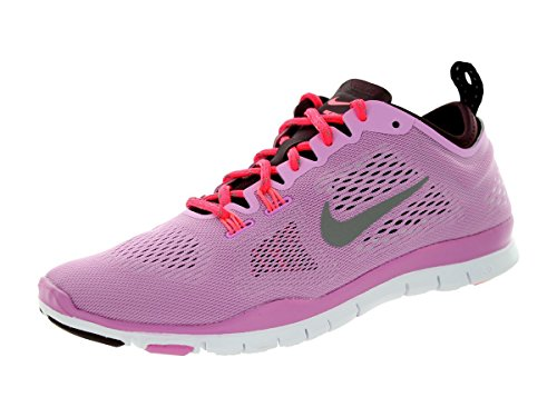 Nike Wmns Free 5.0 Tr Fit 4, Scarpe sportive, Donna, Multicolore (Lt Mgnt/Lght Ash/Dp Brgndy/Lgh), 37.5