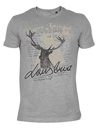 Trachtenmode T-Shirt: Hirsch Lausbua