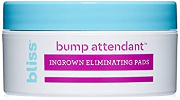 bliss Bump Attendant Ingrown Hair Eliminating Pads   Use Between Waxing/Shaving Sessions   Paraben Free Cruelty Free   25 Pads