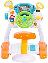 COLOR TREE Kids Pretend Ride on Toy Steering Wheel Driving Car Simulate Toys for Toddlers