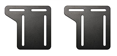 Kings Brand Full - Queen Bed Frame Headboard Bracket Modification Modi-Plate, Set of 2