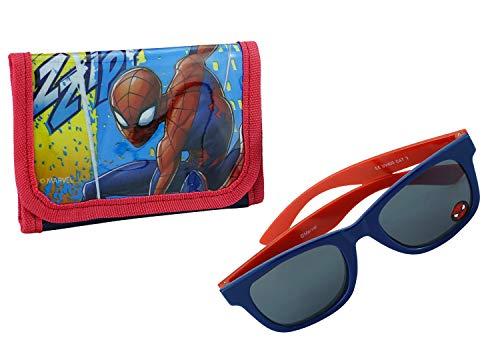 Hovuk® Sonnenbrille mit UV-Schutz, Spiderman-Design, für Kinder ab 3 Jahren